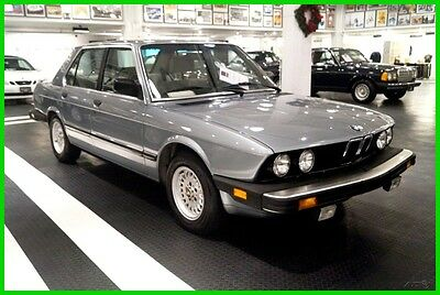 1985 BMW 524td 524 TD 524 Turbo Diesel ...Rust Free Example with Original Paint and Perfect Interior