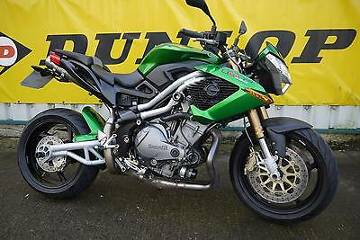 Benelli TNT 1130 Tornado Naked Tre 2008 Green Street Fighter