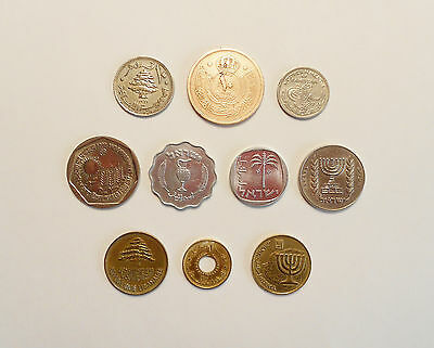 Middle Eastern Coin Lot of 10
