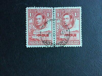 Bechuanaland Protectorate Stamps Used 1d