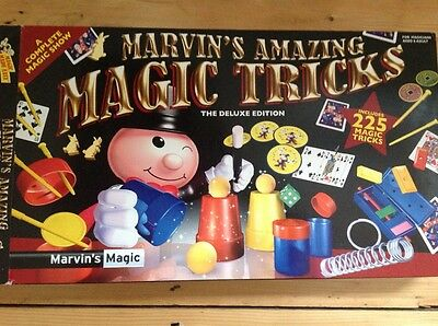 Marvin's Amazing Magic Tricks - The Deluxe Edition