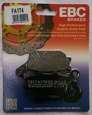 Honda CB750 F2 Seven Fifty (1992 to 2002) EBC Kevlar REAR Brake Pads (FA174)