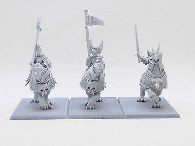 Empire DEMIGRYPH KNIGHTS x3 assembled and undercoated £33 at GW 37875