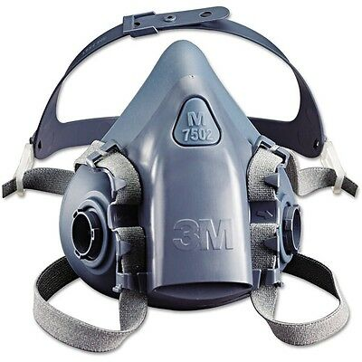 3M 7500 Series REUSABLE SILICONE HALF MASK / RESPIRATOR / 7502 Medium Genuine