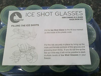 Thumbs Up! 12 Ice Shot Glasses moulds