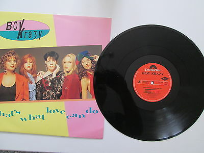 Boy Krazy - That's what Love can Do - 12in Single - LIMITED EDITON