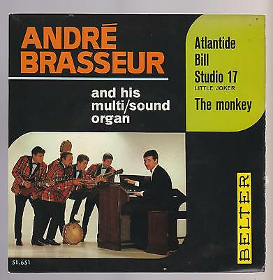 André Brasseur And His... - Atlantide + 3. Rare Ep Spanish Edition 1966 (New) Be