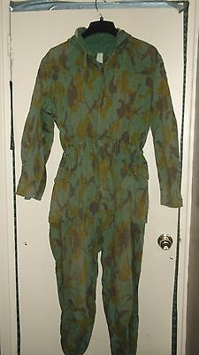 Camo uniform Hungary Spring pattern coveralls large.