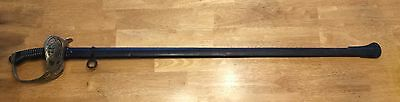 WWI Weyersburg PRUSSIAN M1889 INFANTRY OFFICER'S SWORD 2 Hannover Dragoon Rgt 16
