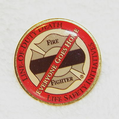 """Fire Fighter """"Everyone Goes Home"""" Collector Pin  (P169)"""