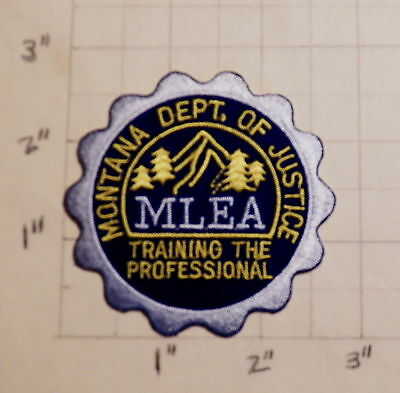 MONTANA Law Enforcement Academy (MLEA) Patch                ***NEW***