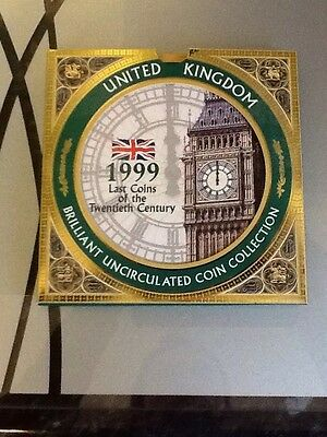 1999 Royal Mint Brilliant Uncirculated UK Coin Collection