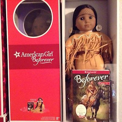 American Girl Kaya Doll ~ New In Beforever Box ~ With Book ~