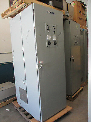 Russ Electric 2000 Amp 3 Phase 277/480 Volt Automatic Transfer Switch- ATS256