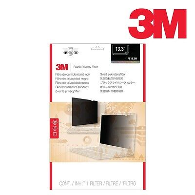 """3M 13.3"""" Lcd Privacy Screen Filter For Widescreen Laptop Pf13.3W"""