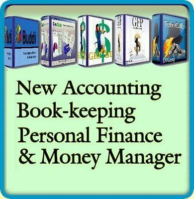 Personal accounting & Home finance software accounts CD