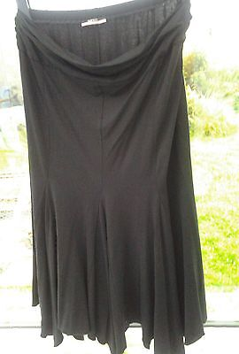 George black Maternity skirt size 12