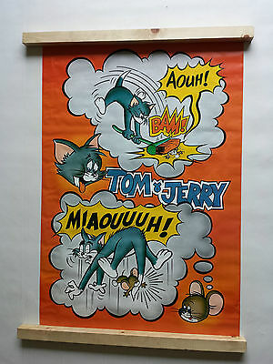 Tom And Jerry Poster Large Vintage 1977 Pace Int. No.58 Was Unopened