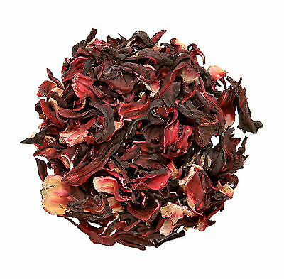 Organic Certified Dried HIBISCUS Flowers Loose Leaf Herbal Tea Grade *A* Quality