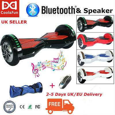 Bluetooth+Speaker 2 Wheel 8 inch Hoverboard,Samsung Battery,Approved Chargers