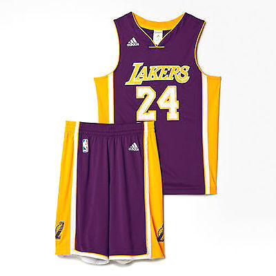 Completino Adidas basket Lakers replica junior