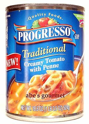 Progresso Traditionals Soup (6 Pack) Creamy Tomato with Penne Pasta, 18.5 Cans