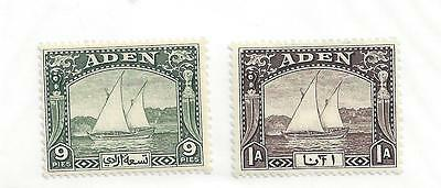 Aden 2-3 Mh - 1937 - Dhows