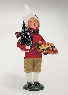 Byers' Choice Carolers New 2016 CRIES OF LONDON BOY SELLING GINGERBREAD