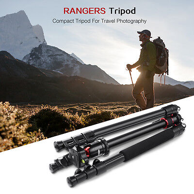 "Rangers 62"" Lightweight Pro Digital Camera Camcorder Tripod for Canon DSLR RA068"