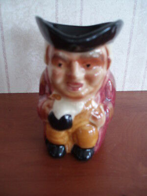 Small Toby Jug On The Base Made In Great Britain 3 Inches High