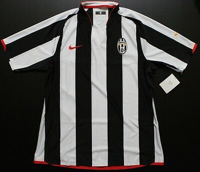 Maglia Juventus Player Issue 07-08 Home L Match Worn Issued Shirt Trikot Maillot