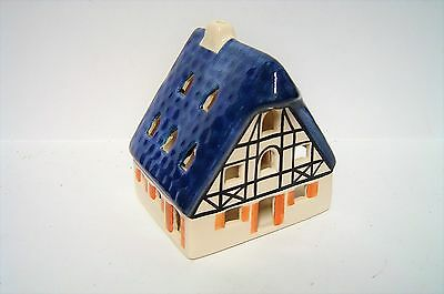 1991 Ursula Leyk Lichthaus W. Germany Ceramic Tea Light Signed FREE PRIORITY
