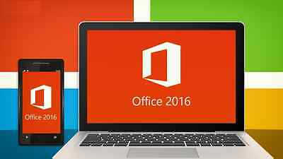 Microsoft  Office Professional Plus 2016 32/64-Bit (License Only) 1 user / 1 PC
