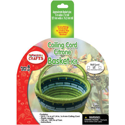 Coiling Cord Kit Citrone Basket CB4K04