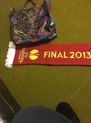 Chelsea Scarf 2013 Amsterdam Final Europa Cup