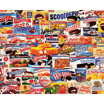 "Jigsaw Puzzle 1000 Pieces 24""X30"" Tasty Treats WM955"
