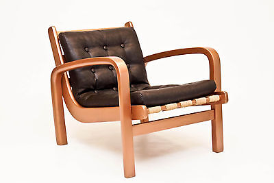 Lounge Chair by Kropacek & Kozelka - Danish Vintage Retro Mid Century