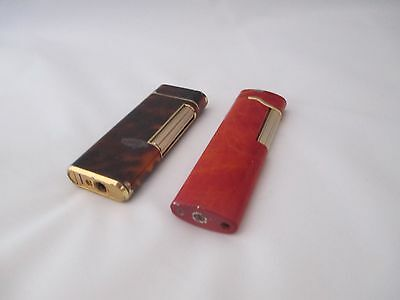 Pair Of Ronson Gas Lighters -Untested