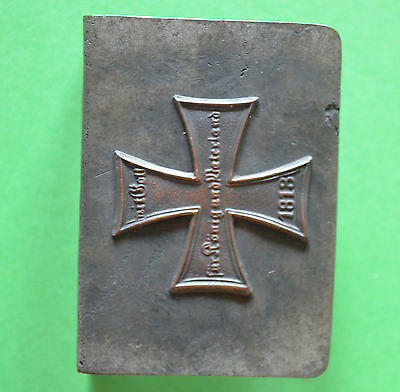German Imperial trench art MATCH BOX PROTECTOR 1813