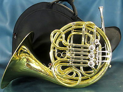 Andreas Eastman EFH420 Double French Horn w/ Blessing Silver 11 Mouthpiece