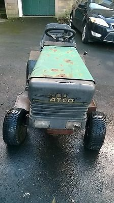 ATCO 12/36 petrol  RIDE-ON LAWN MOWER TRACTOR SPARES OR REPAIRS