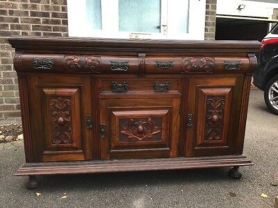 Late 19th century Victorian sideboard