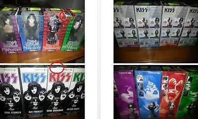 KISS MC FARLANE all band from 2002 Collectibles Statuettes Toys - no promo