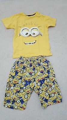 Despicable Me Shirt and Shorts Set 2 to 3 years old