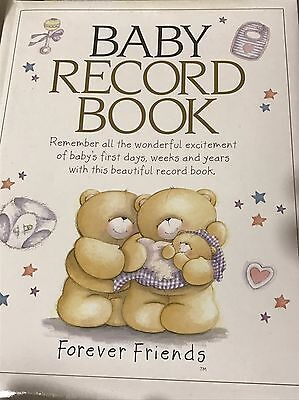 Baby Record Book - Forever Friends - Brand New