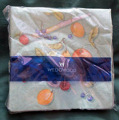 Wedgwood  - Pack of 20 NAPKINS / SERVIETTES - NEW
