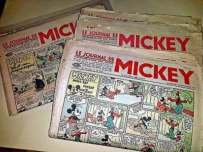 Journal de Mickey Lot Avant Guerre 100 n° dont les  n° 12 26 27 .