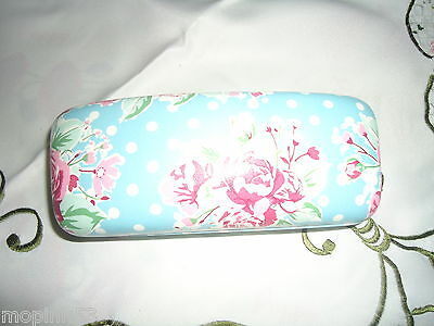 ladies /girls  hard shell floral & spotted glasses case