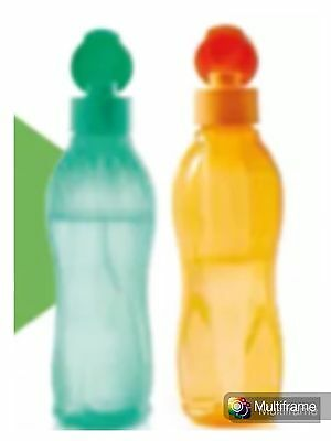 SUPER PROMO !! 2 Bouteilles Eco Sport 750 ml Orange Et Verte TUPPERWARE NEUVES