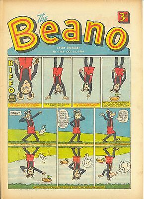 Beano Comic 1263 October 1St 1966. Vg+ Condition